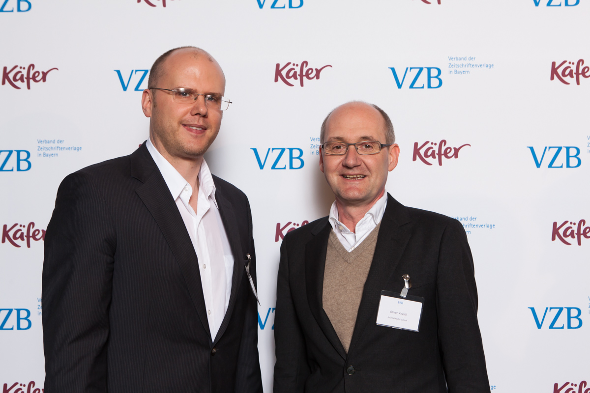 Florian Jungwirth, JournalMedia, Oliver Kneidl, JournalMedia (Foto: Bettina Theisinger)