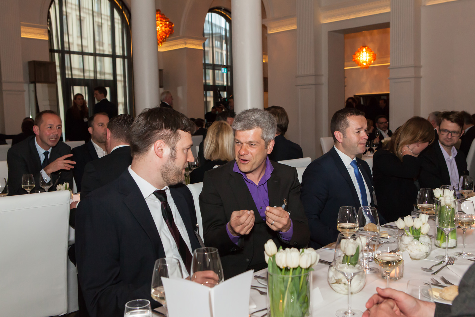 Jochen Franke, MEC, Winfried Hanuschik, Port Media, Alois Graf, Bankhaus DONNER & REUSCHEL (Foto: Bettina Theisinger)