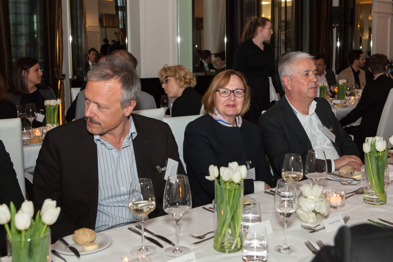 Friedrich Streng, InTime Media Services, Helena Bommersheim, Bommersheim Consulting, Dr. Wolfgang Stock (Foto: Bettina Theisinger)