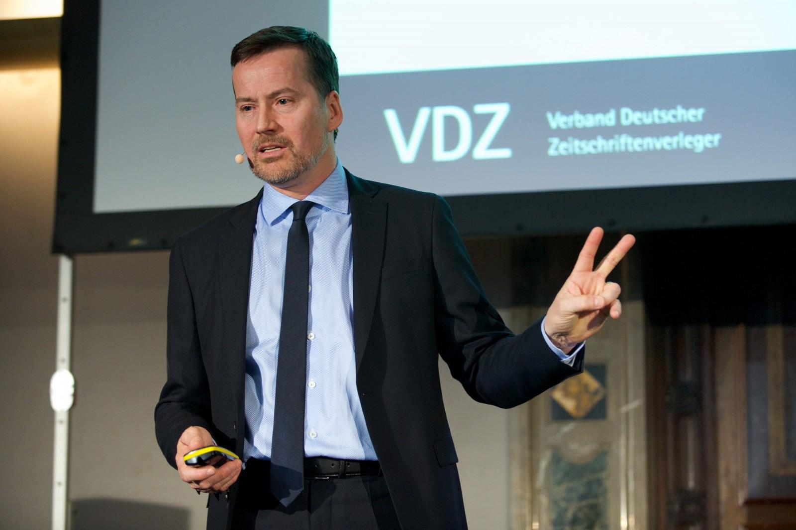 Stephan Scherzer, Verband Deutscher Zeitschriftenverleger VDZ
