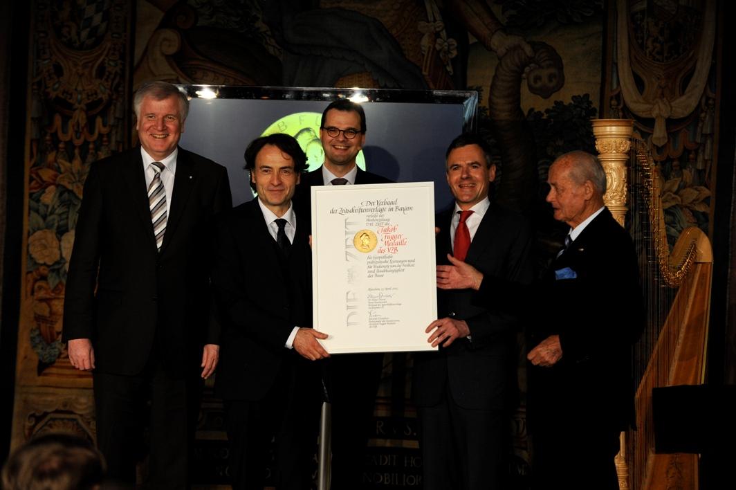 VZB Fuggermedaille 2012