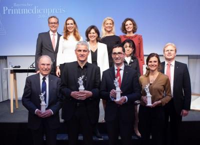 Preisträger Printmedienpreis 2016