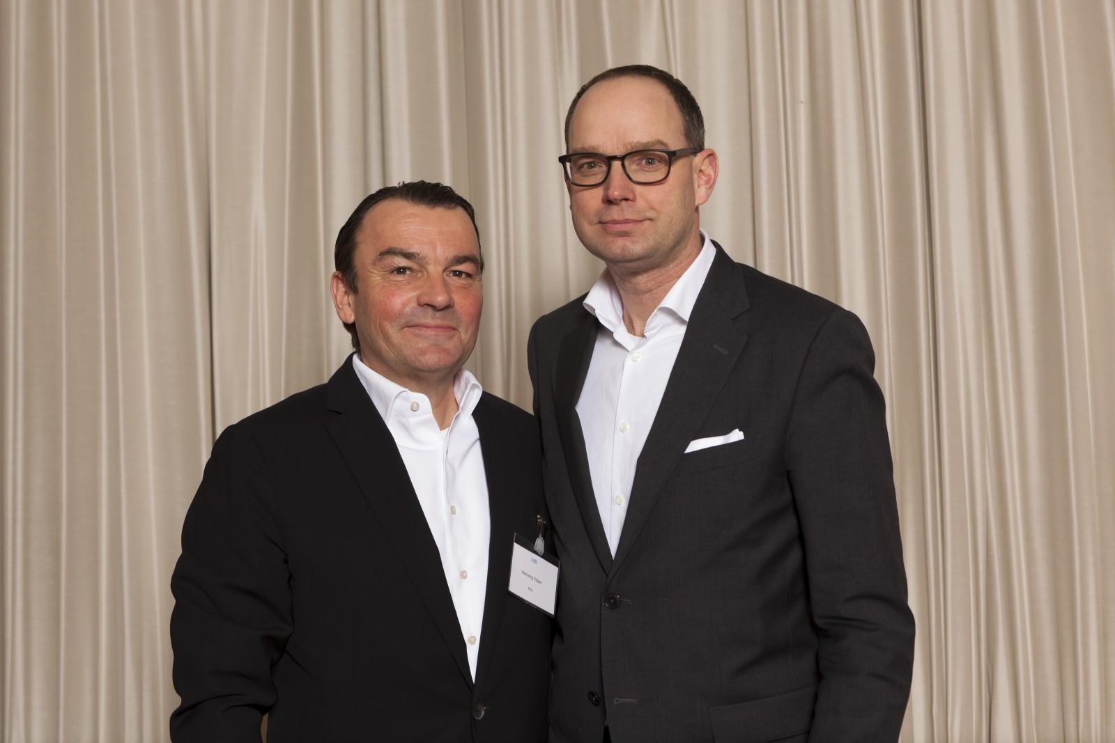 Henning Ecker, MZV; Dr. Holger Feist, Messe München